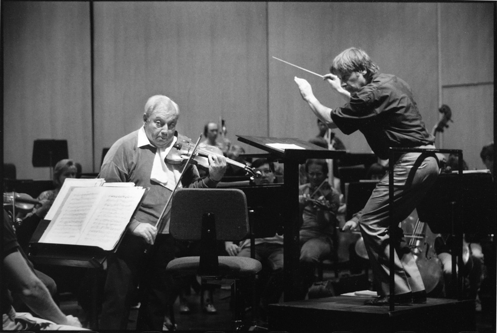 Isaac Stern & Lawrence Leighton Smith, 1988