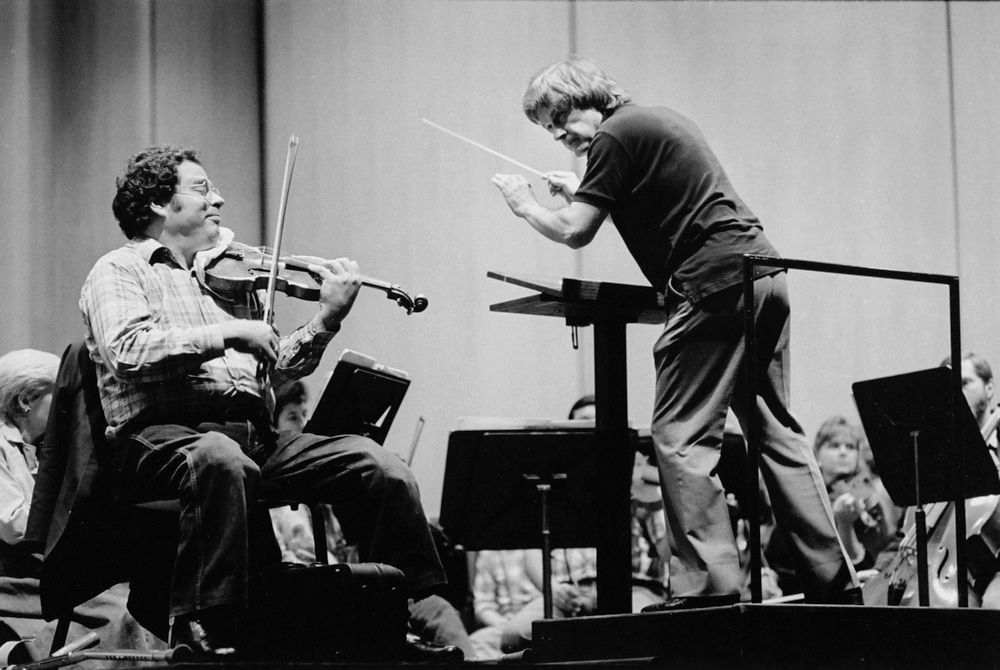 Itzhak Perlman & Lawrence Leighton Smith, 1987