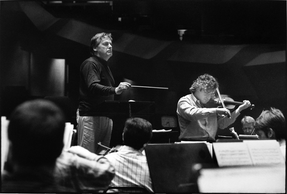 Lawrence Leighton Smith & Pinchas Zukerman, 1990