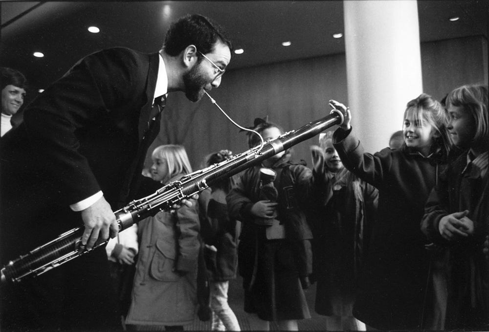 Bassoonist Matthew Karr, 1991