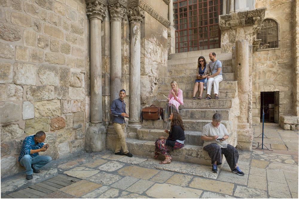 Holy Sepulchre, Jerusalem 2012