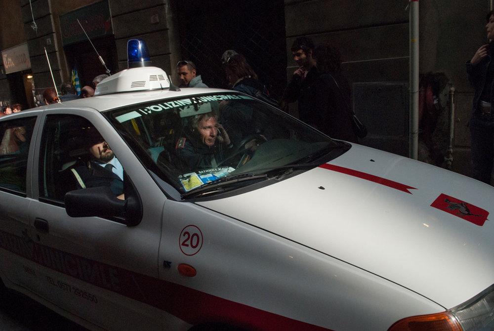 Polizia, Orvieto, Italy 2006