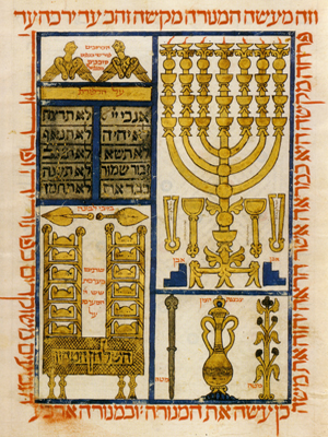 Word and World: Hebrew Illuminated and Illustrated Manuscripts