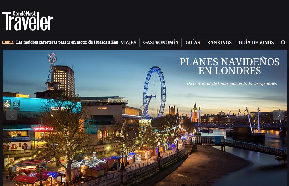 Planes navideños en Londres - Monica R Goya