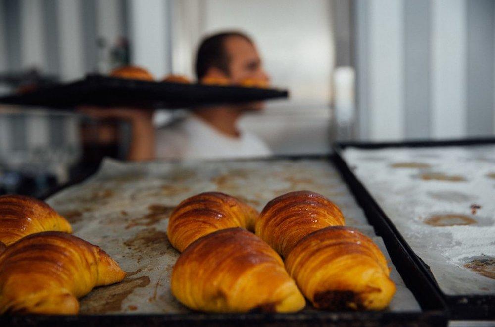 croissants at Molete in Porto
