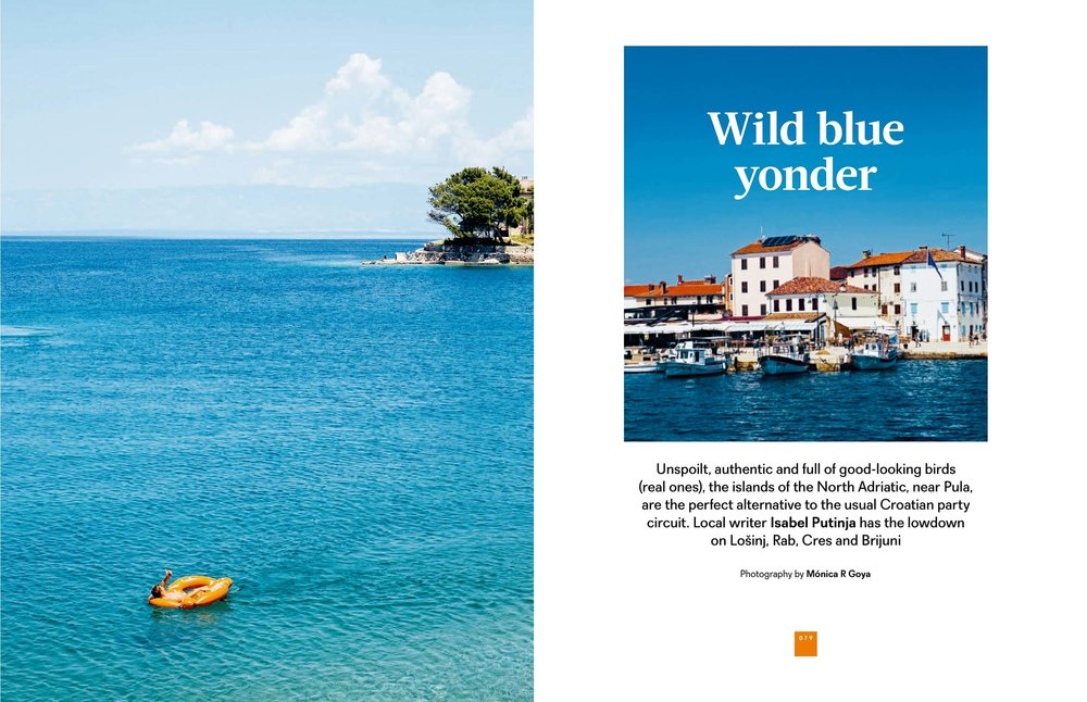 Wild Blue Yonder - easyJet Traveller August 2017 - Photography