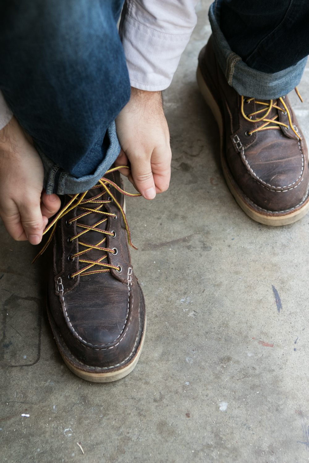 Shop the  Danner Bull Run Moc Toe .