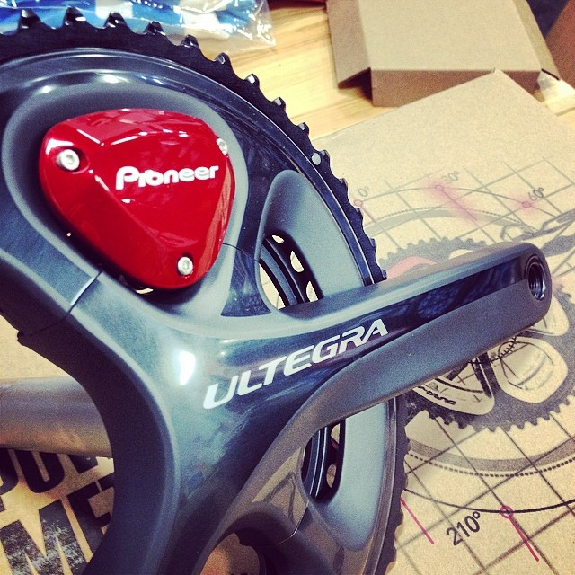 There's a new power meter on the block. #pioneer #shimano