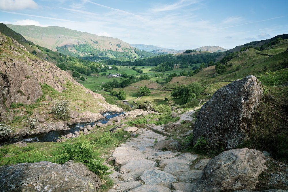 From Sourmilk Gill to Grasmere