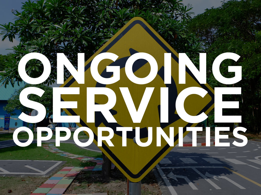 ongoing service opportunites