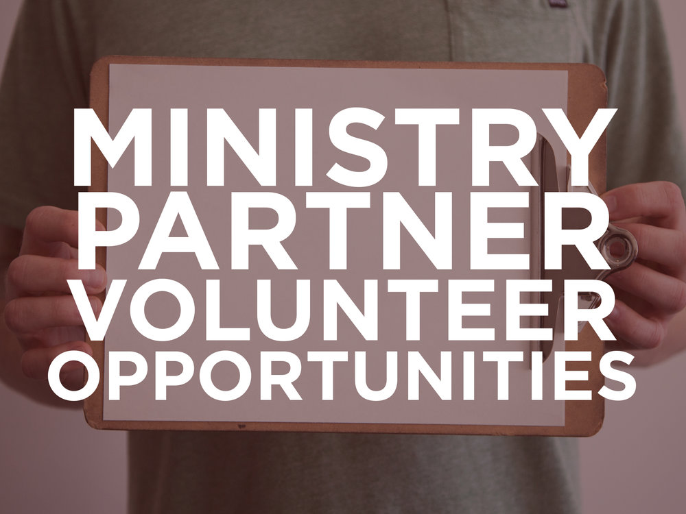 ministry partner volunteer