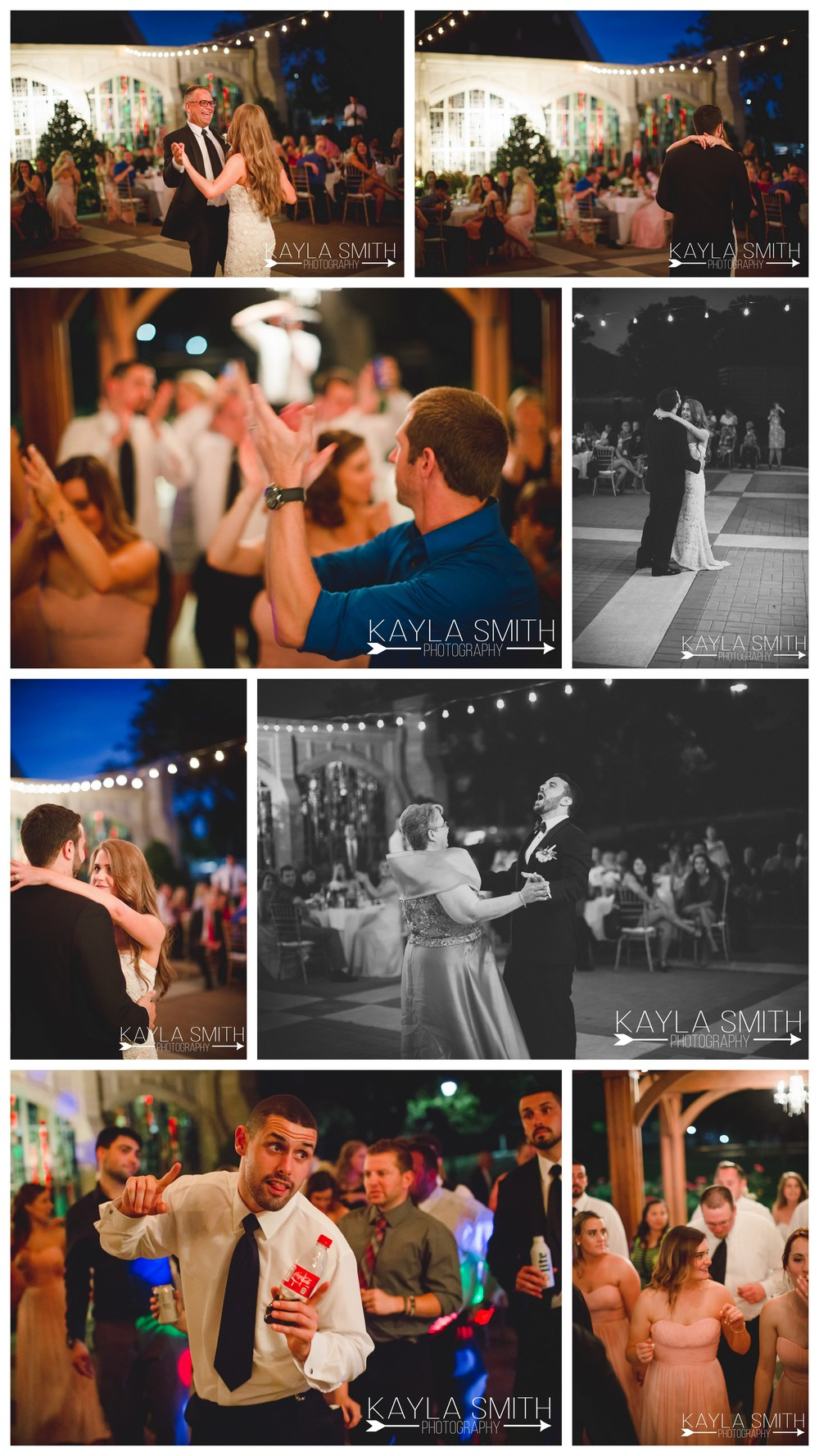 The night continued with tons and tons of dancing on the beautiful, light-strung patio with music by Be Entertained Events of Fort Worth.