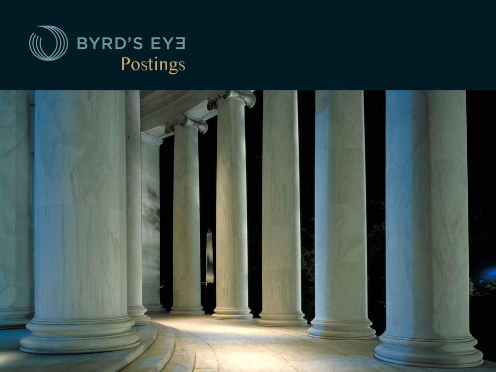 Byrd's Eye Postings {Blog)