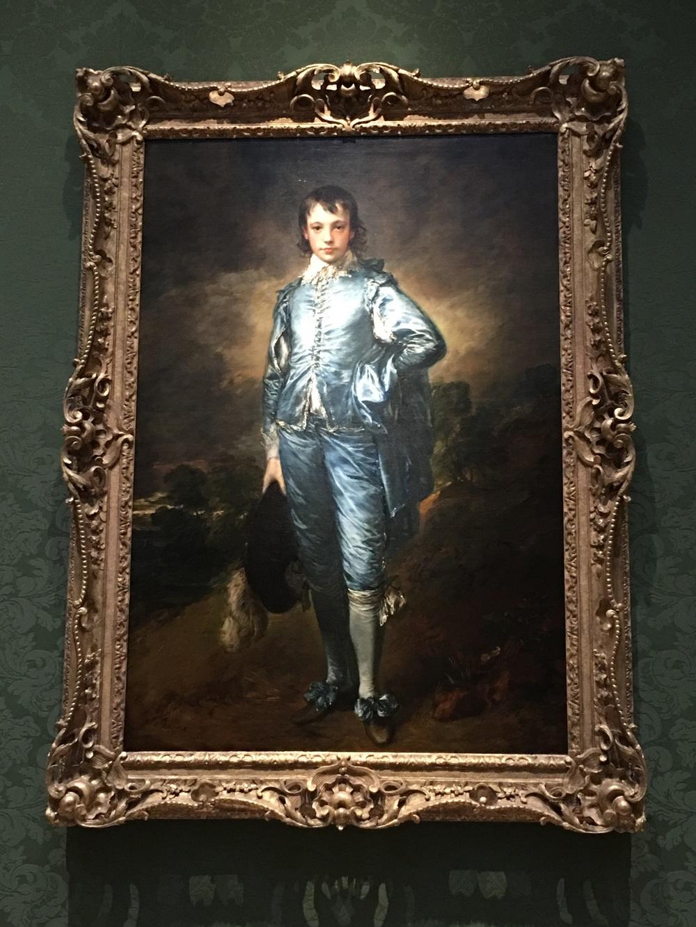 Blue Boy by Gainsborough