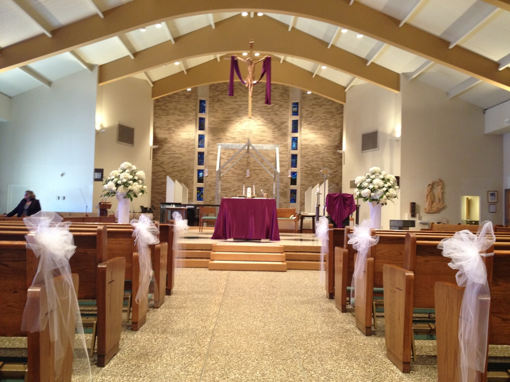 The Altar at Our Lady Of Mercy in Park Ridge NJ