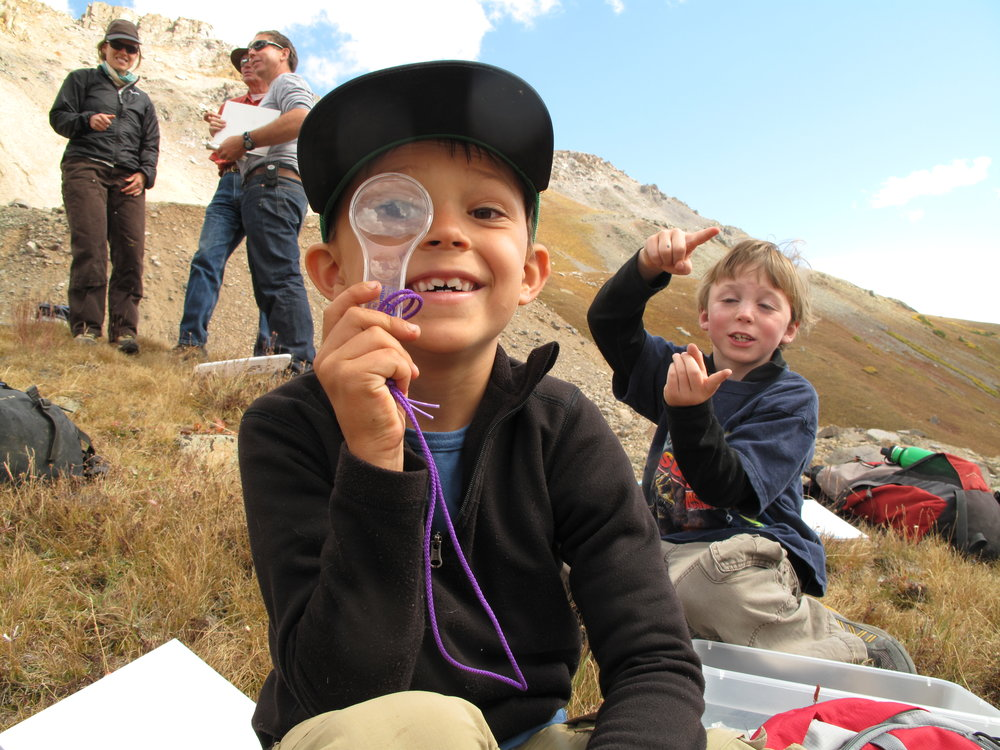 "DISCOVER, EXPLORE, ENGAGE   Volunteer with Mountain Studies through our ""Summer of Science""!."