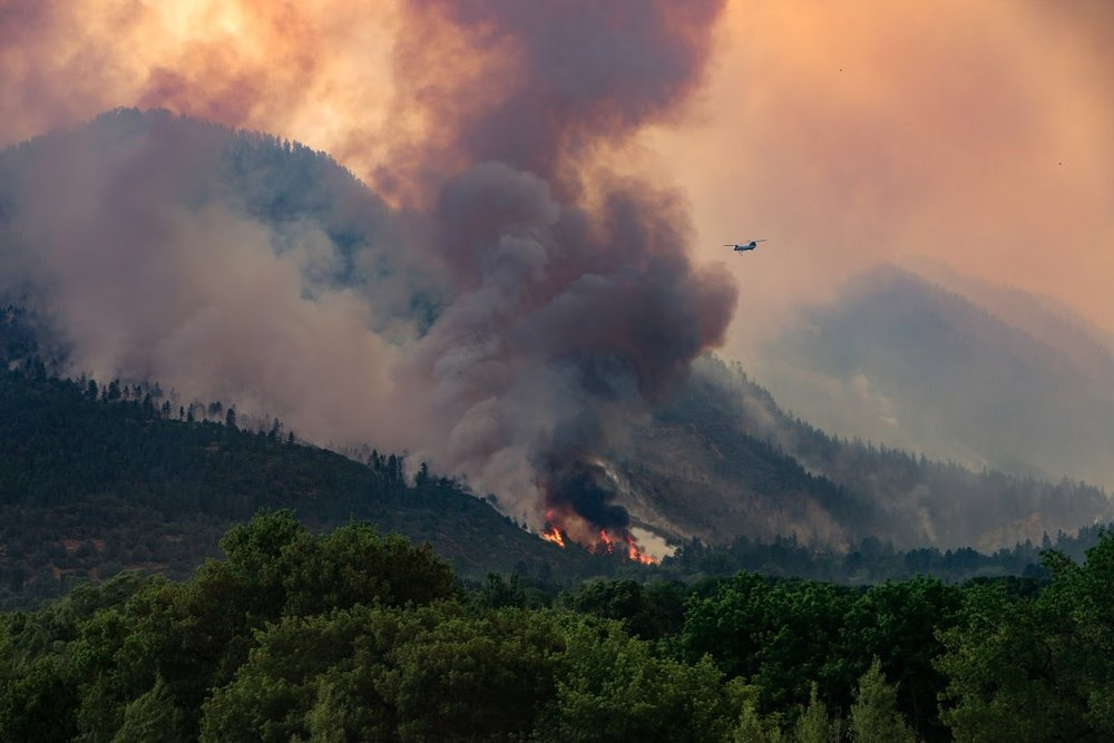 416 Fire. Photo by: Priscilla Sherman