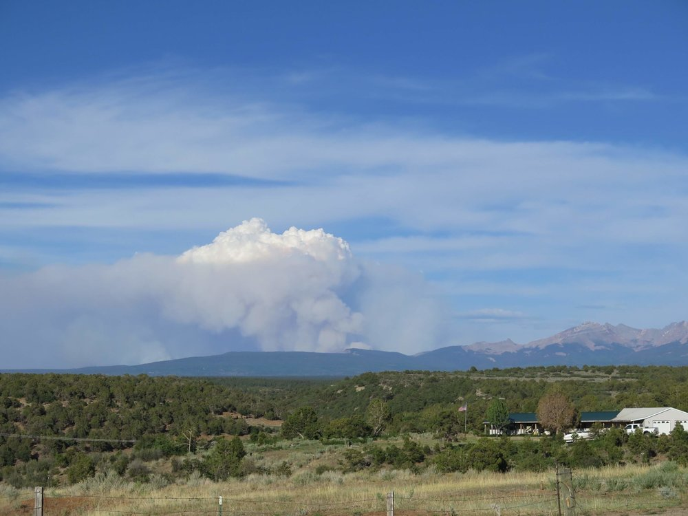 416 Fire, photo by Priscilla Sherman