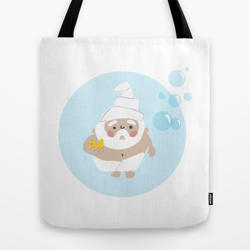 Scrub a Dub Tote by ThePaperGnome