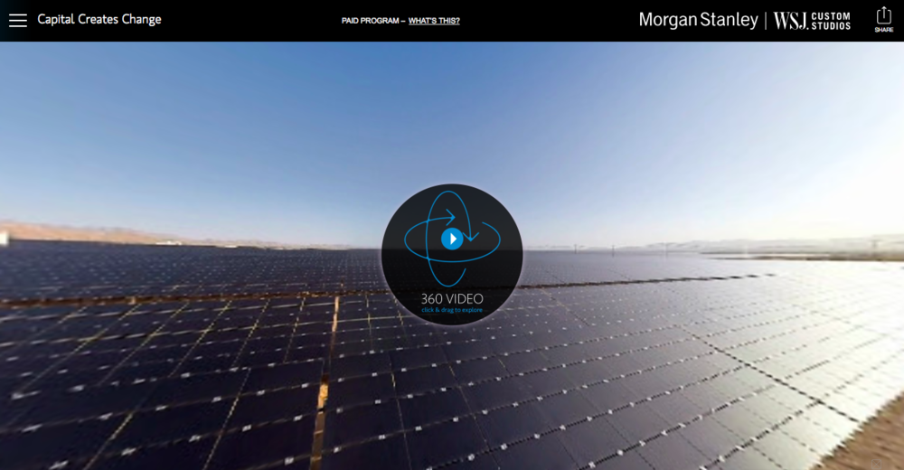 Client:  Morgan Stanley Virtual Reality Project   Location:  Death Valley, Nevada