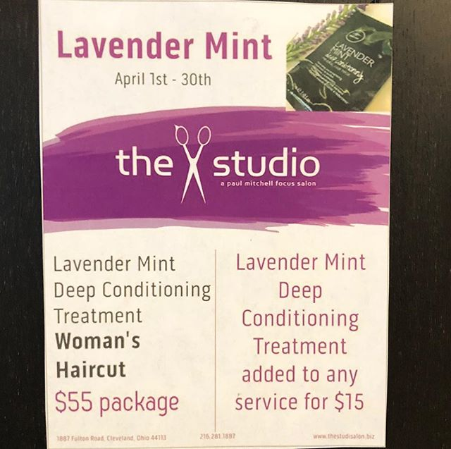 I have openings this week! Come rehydrate your dry winter hair for spring!