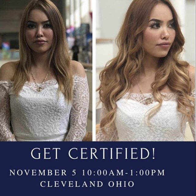join @rachellemyarnell at @the.studio.salon for an #extensions class featuring @platinumseamless #hairextensions #tapeinextensions #longhairstyles #clevelandhairstylist #cleveland