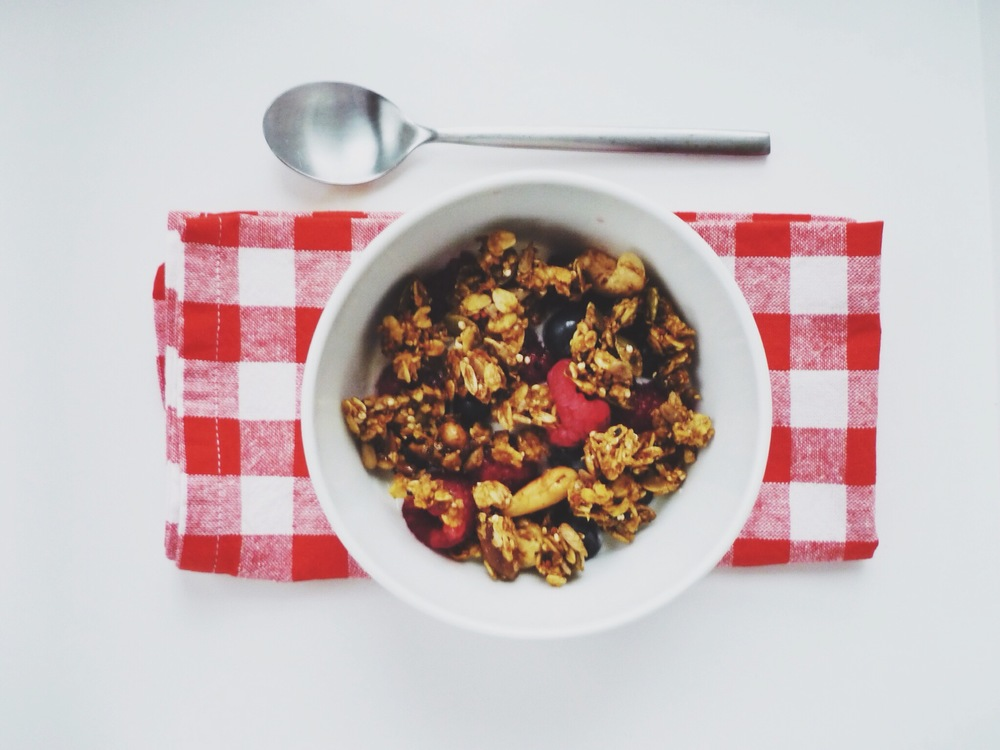 Pumpkin Pie Granola - ready to eat!