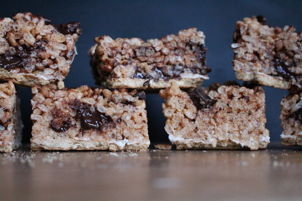 All of It - S'mores Rice Krispie Bars