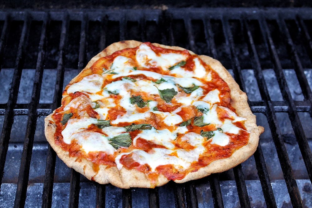 All of It - Grilled Pizza