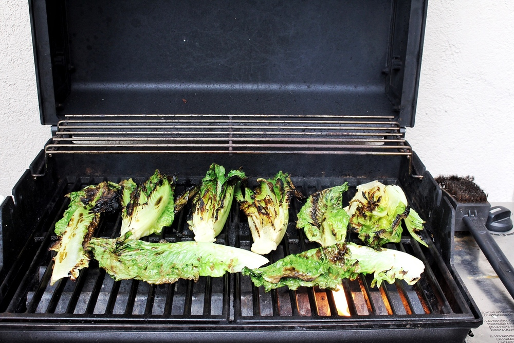 All of It - Grilled Romaine