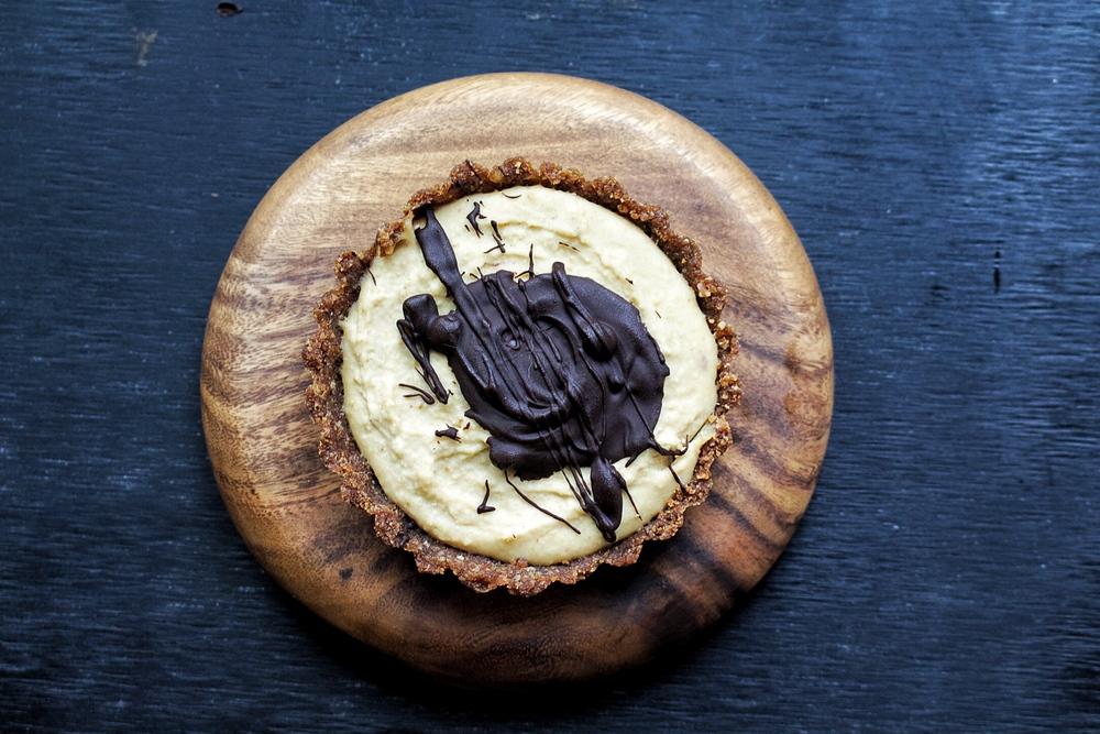 All of It - Easy Vegan Cheesecake - Chocolate Swirl