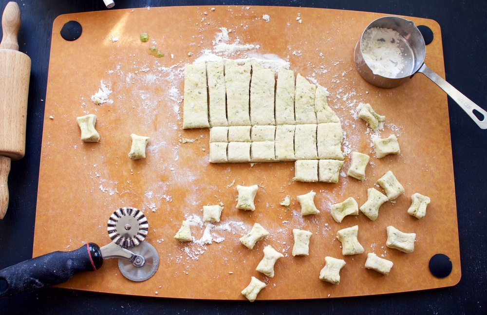 All of It - Ricotta Gnocchi Bows