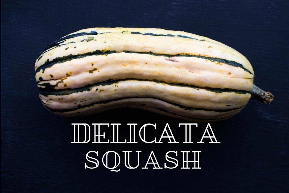 All of It - Autumn Vegetable Salad - Delicata Squash