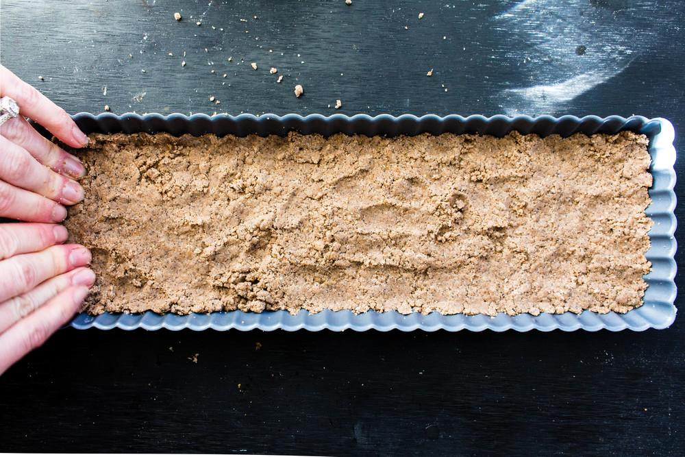All of It - Espresso Shortbread with Butterscotch Glaze