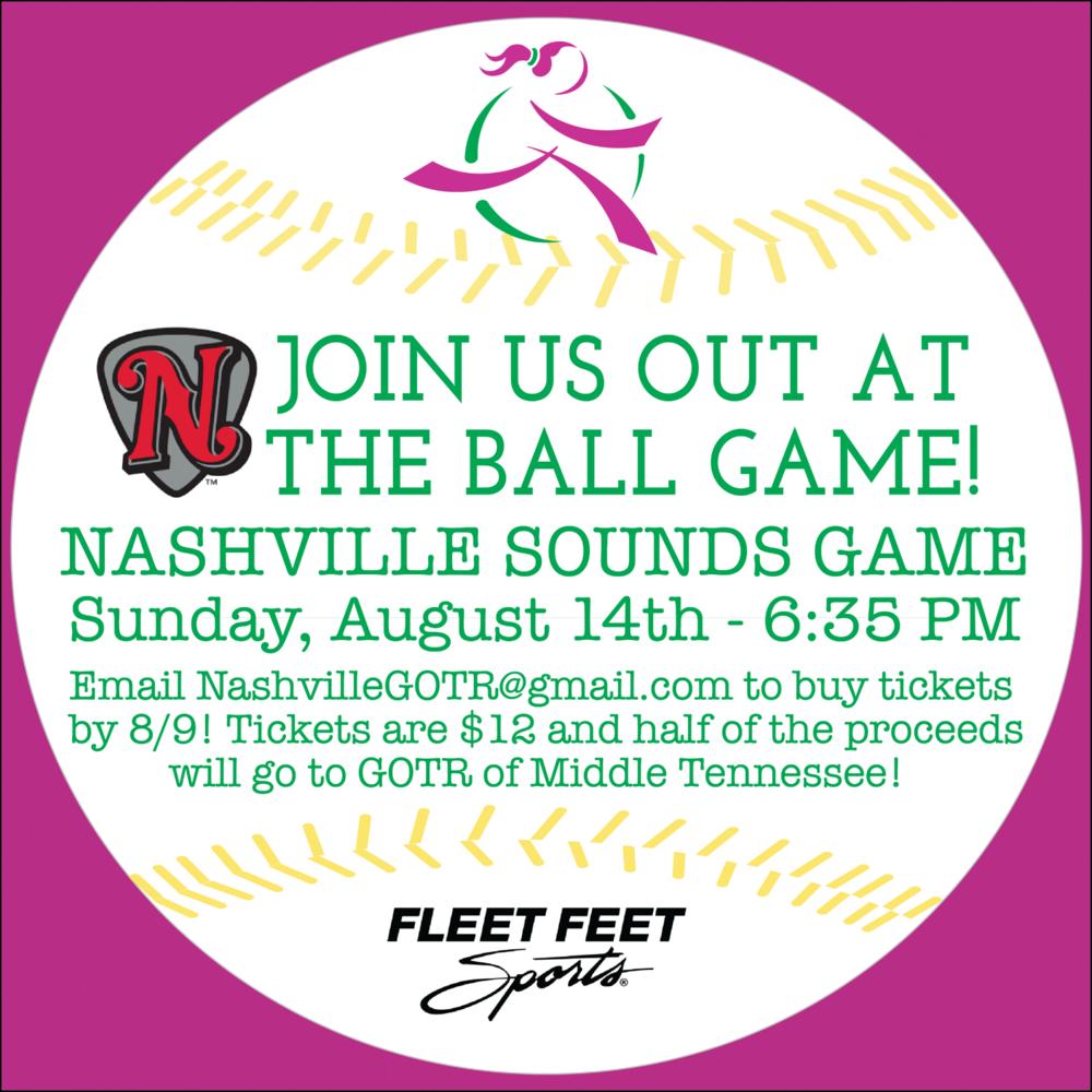 All of It - GOTR Mid TN + Nashville Sounds