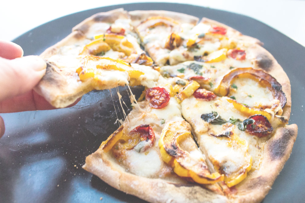 All of It - Easy Homemade Thin Crust Pizza