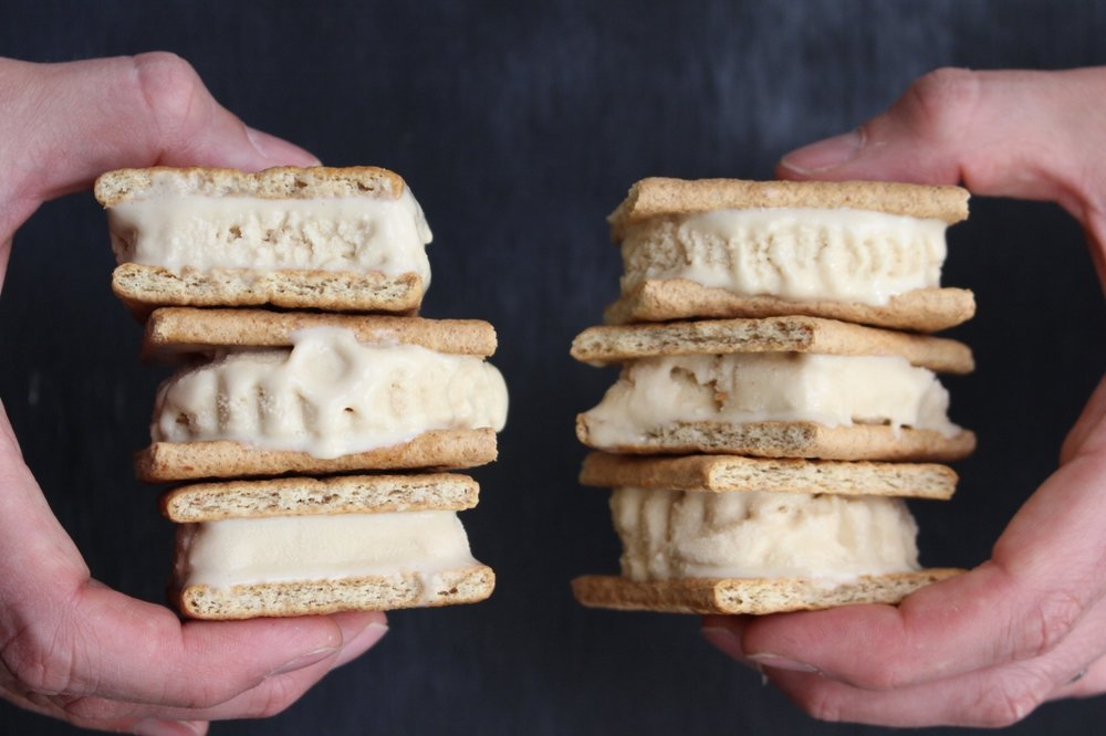 All of It - S'mores Ice Cream Sandwiches