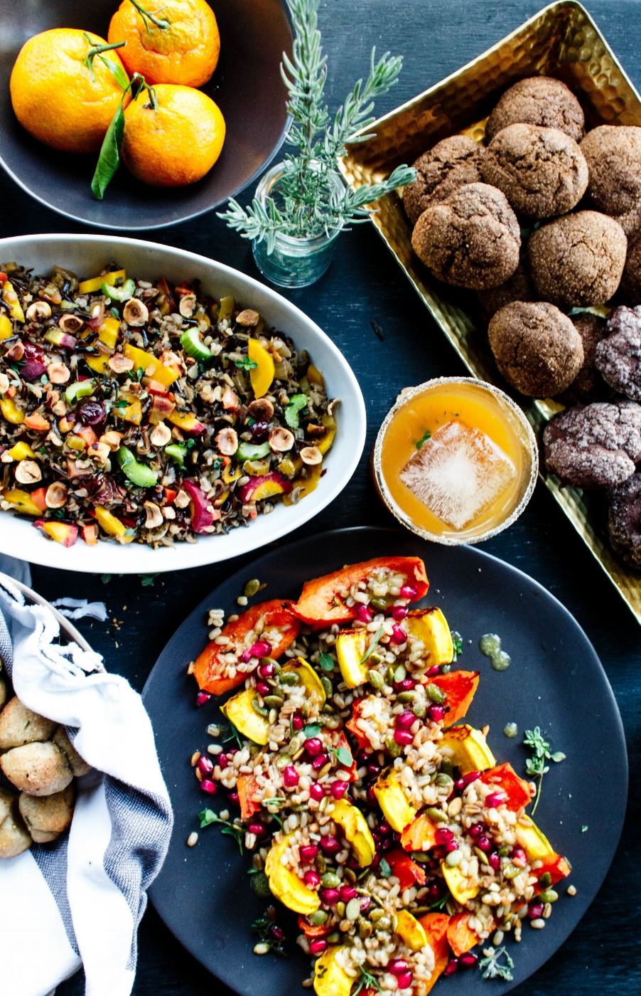 All of It - Thanksgiving Recipes - Vegetarian Wild Rice Dressing