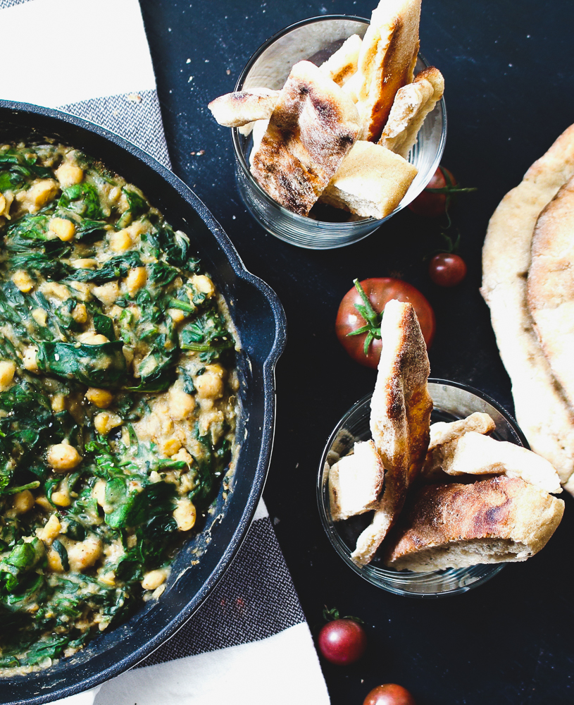 All of It - Chickpea and Spinach Cazuela