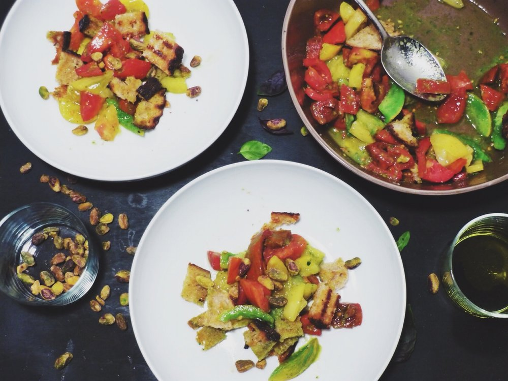 All of It - Grilled Panzanella
