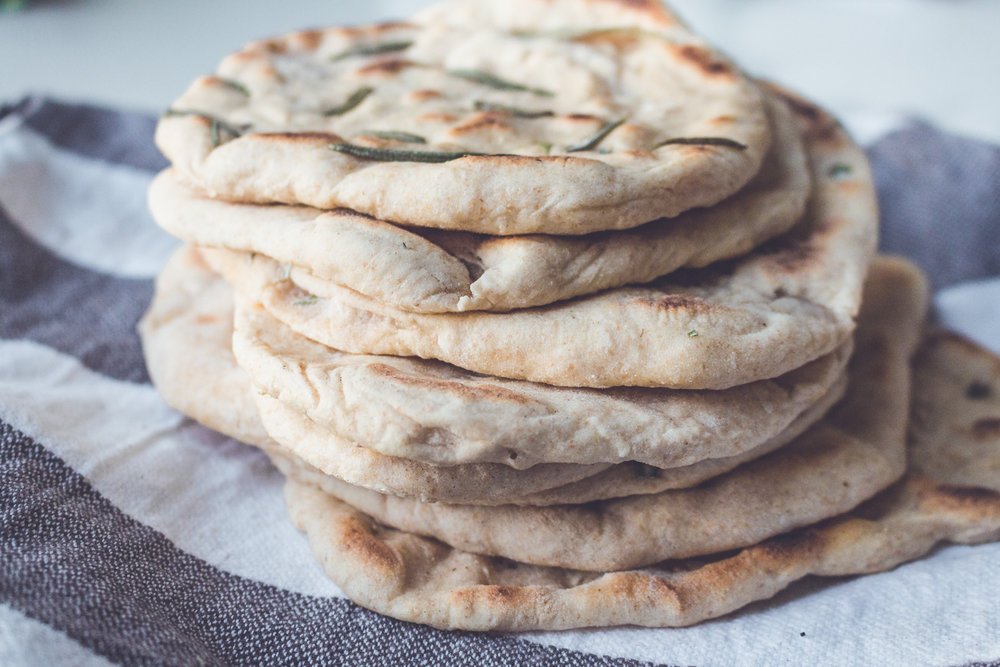 All of It - Easy Homemade Vegan Naan