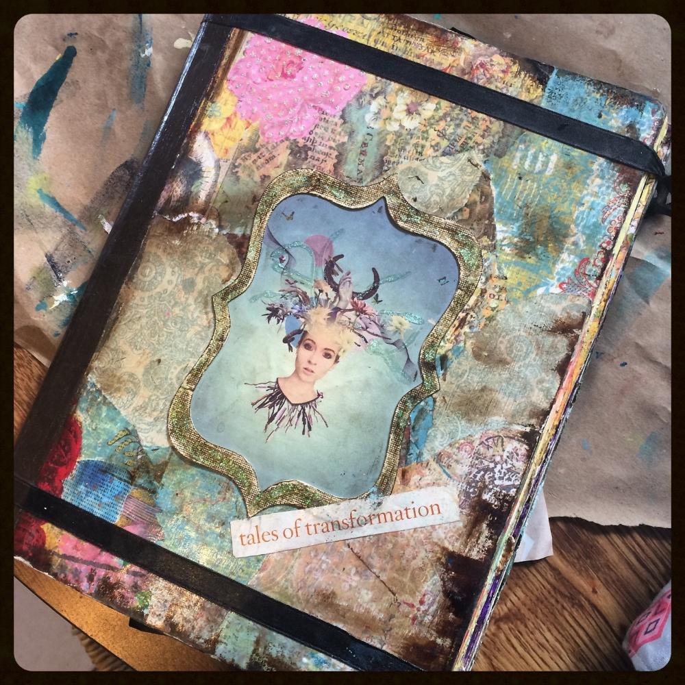 Art Journal Calendar Tutorial : Diy art journal tutorial — soul whisper arts