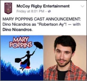 """Dino Nicandros as """"Robertson Ay"""""""