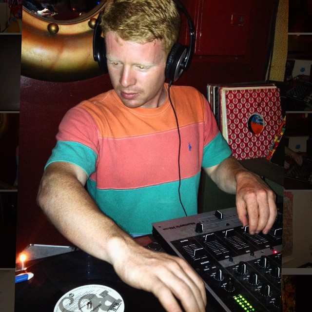 Bon voyage dj @sethzone7. The market tables will be missing your slick beats until your return! #dj #britinvasion #vinyl #spinit #record #vintage #polo #style #music #marketlife