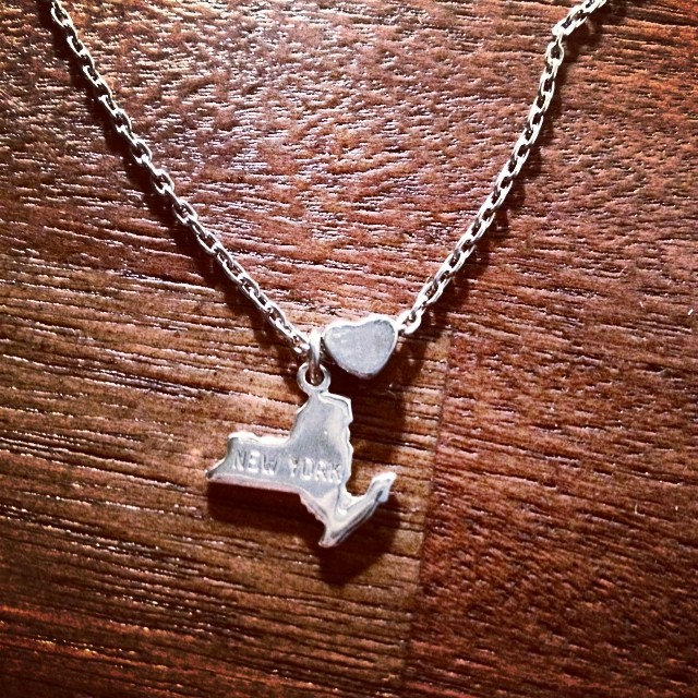 RAFFLE TIME! Win some New York love, by @brooklyncharm by liking the picture and the page! We'll also be raffling off one at our #shopandgroove party this Thursday night at the @chelseamarketny !!