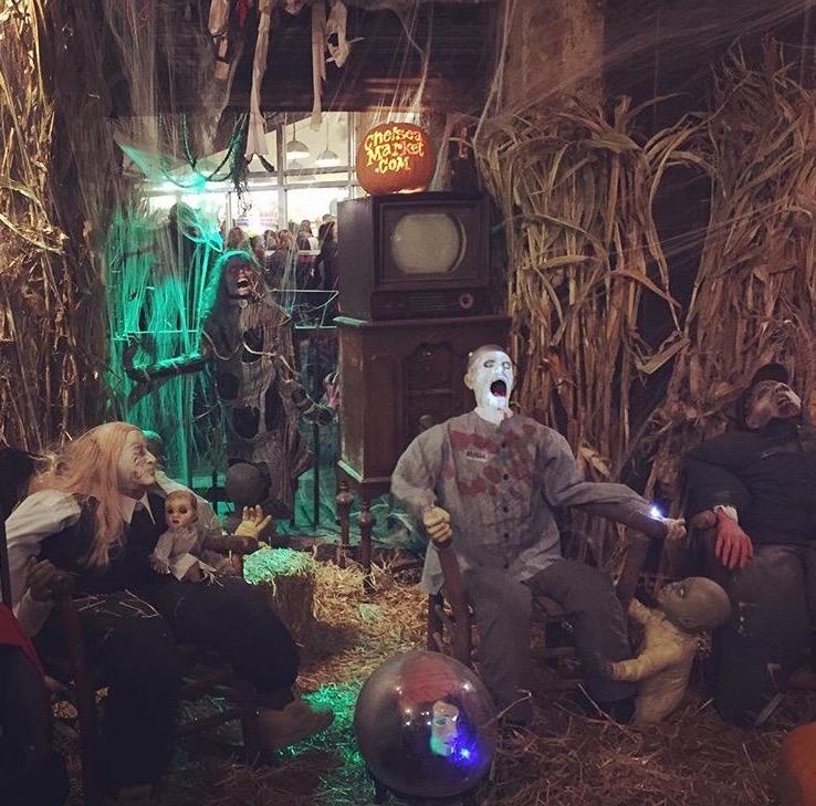 Chelsea Market Halloween
