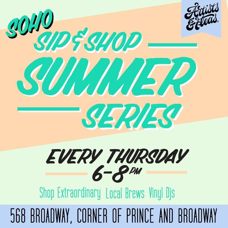 Soho Summer Sip & Shop