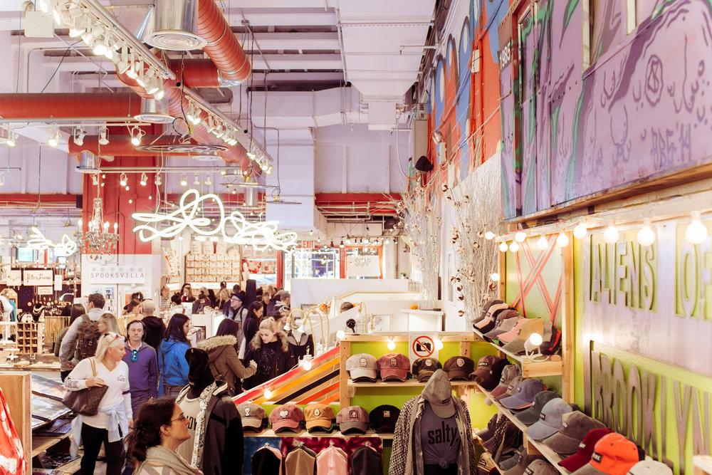 Artists & Fleas in Chelsea Market