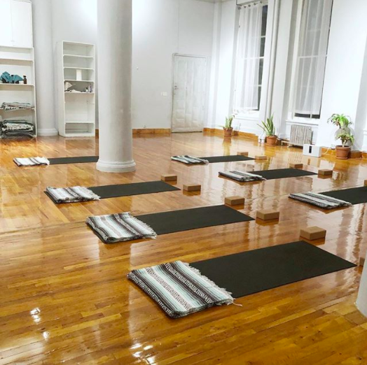BigToe Yoga - Yoga Tuesdays at Artists & Fleas in Soho