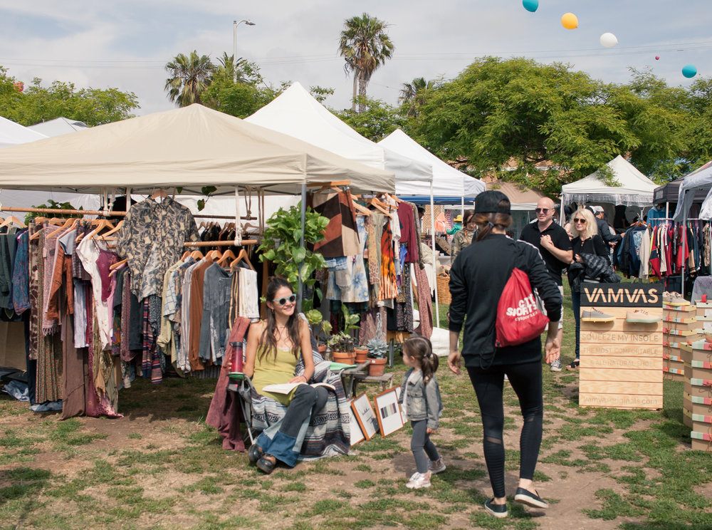 Venice / LA - Join us for an outdoor market every Saturday from Memorial Day - Labor Day. Pop-up in a 10' x 10' space or park your fashion truck for $100/day. Food trucks welcome for $50/day.